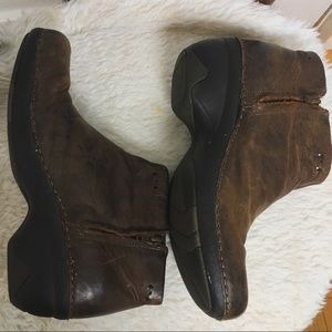 Patagonia, clog ankle boots.